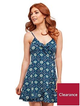 joe-browns-chic-wrap-dress-blue-print