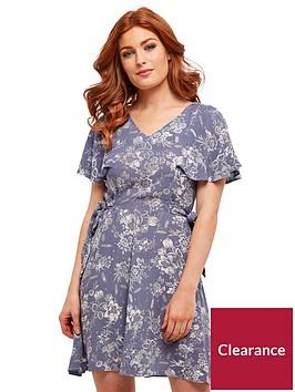joe-browns-caped-tea-dress-blue