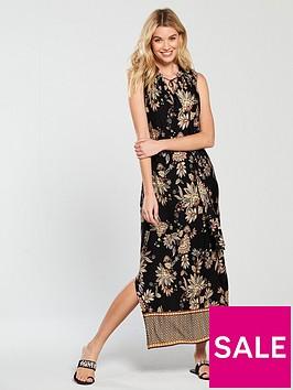wallis-border-maxi-dress-paisley-print
