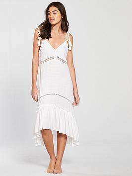 river-island-river-island-pom-pom-cami-nightdress--white