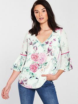wallis-garden-party-blouse-ivorynbsp