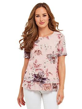 joe-browns-a-bit-of-you-floral-top-pink