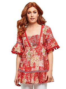 joe-browns-printed-aztec-blouse