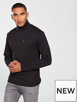 calvin-klein-jeans-ck-jeans-logo-long-sleeve-turtle-neck-jersey-top