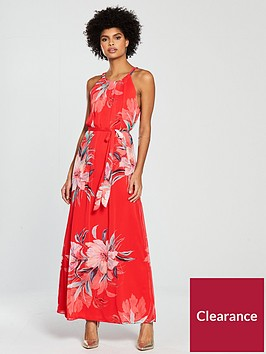 wallis-watercolour-floral-maxi-dress-rednbsp
