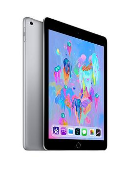 Apple Ipad (2018), 128Gb, Wi-Fi &Amp; Cellular, 9.7In - Space Grey - Apple Ipad With Apple Pencil cheapest retail price