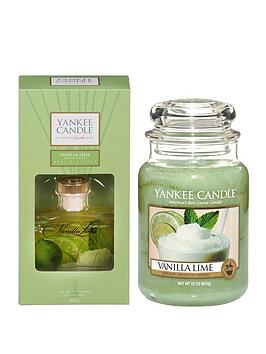 yankee-candle-vanilla-lime-large-jar-candle-and-reed-diffuser-set