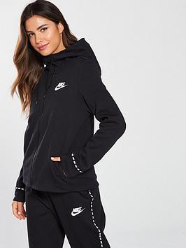 nike-sportswear-optic-full-zipnbsphoodie-blacknbsp