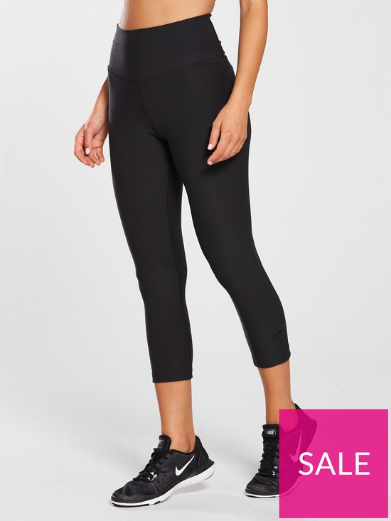 ff3900b27ce09 Nike Training Sculpt Hyper Crop - Black | very.co.uk