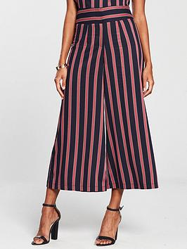 v-by-very-wide-leg-trouser-navy-stripe