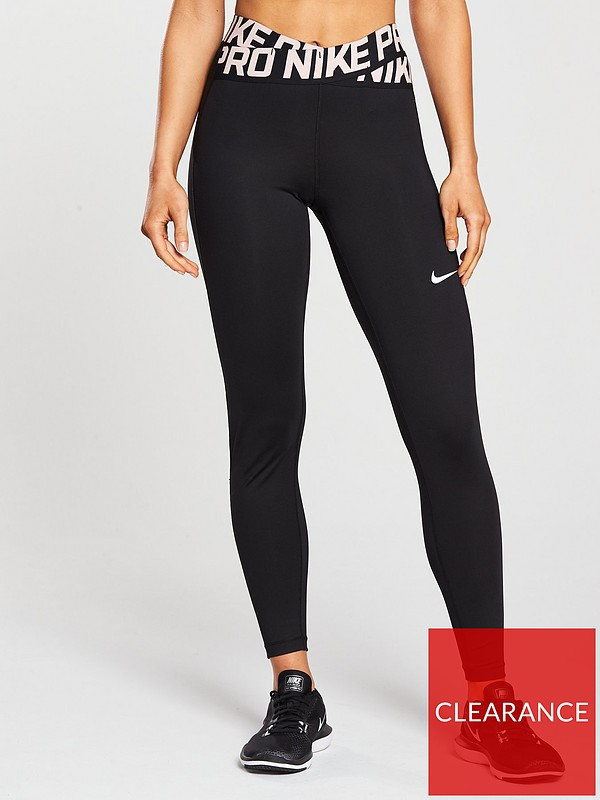 buy popular incredible prices where can i buy Training Crossover Tight - Black/Pink