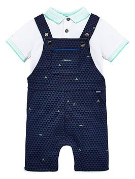 baker-by-ted-baker-baby-boys-geo-polo-dungagree-set