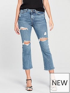 v-by-very-distressed-crop-kickflare-jean-mid-wash