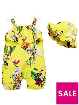 baker-by-ted-baker-baby-girls-oasis-strappy-romper-amp-hat