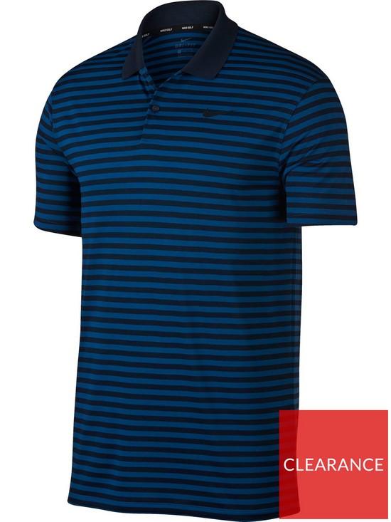 cee8dde2a Nike Dry Victory Stripe Golf Polo   very.co.uk