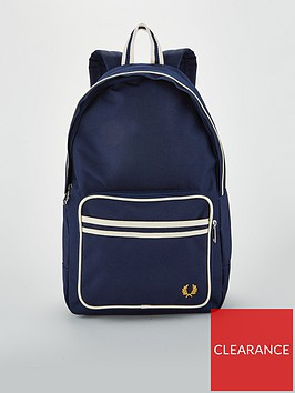 fred-perry-twin-tipped-backpack-navy