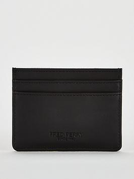 fred-perry-card-holder-black