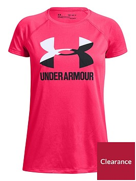 under-armour-girls-big-logo-tee