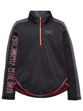 under-armour-girls-tech-12-zip-top-blacknbsp
