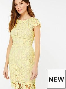 monsoon-leah-lace-midi-dress-yellow