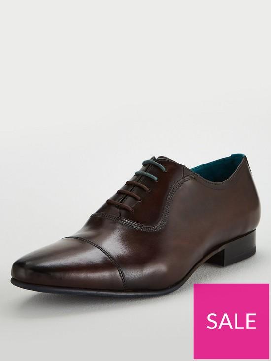 08f9492f5e7 Ted Baker Karney leather Toecap Shoe | very.co.uk