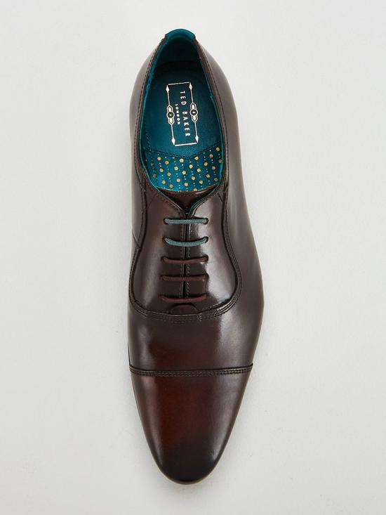 21a9a22677cc ... Ted Baker Karney leather Toecap Shoe. View larger