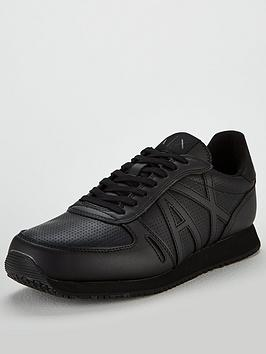 armani-exchange-leather-trainer