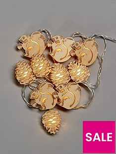 woodland-animals-light-up-christmas-garland