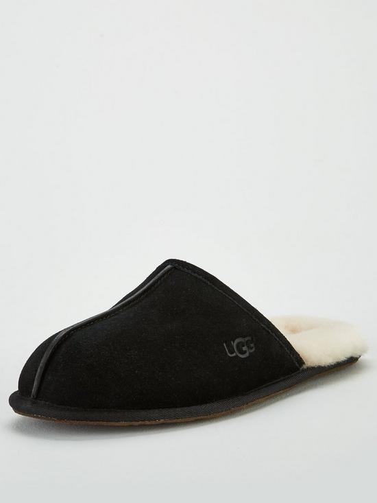 3793ebe1f90 Scuff Suede Slipper - Black