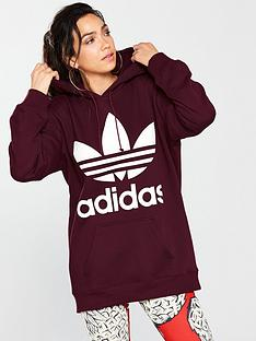 adidas-originals-boyfriend-trefoil-hoodie-maroonnbsp