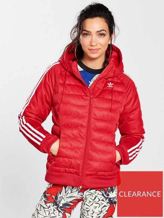ed7554ac8e4a adidas Originals Slim Jacket - Red