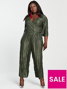 v-by-very-curve-plisse-cropped-jumpsuit-khakinbsp