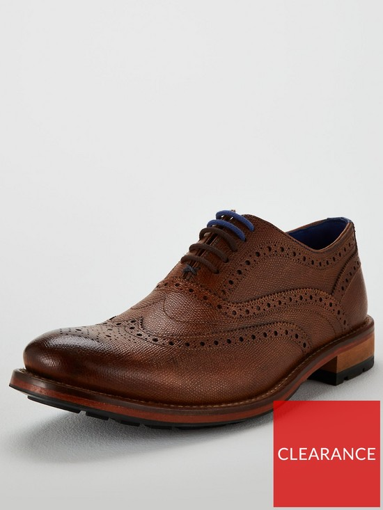 0cb631da301a0f Ted Baker Guri 9 Leather Brogue