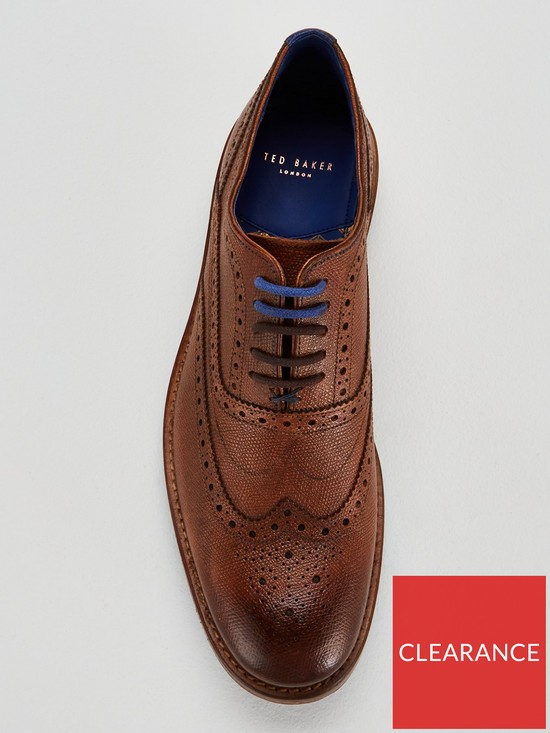 9fc1a13fc8ad1 ... Ted Baker Guri 9 Leather Brogue. View larger