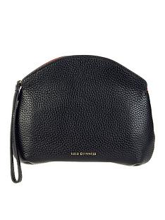 lulu-guinness-clover-peekaboo-lips-zip-clutch-black