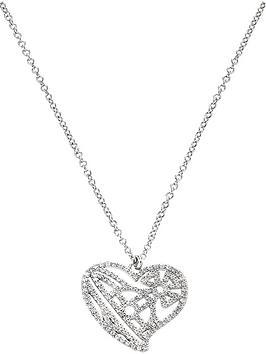 vivienne-westwood-giuseppa-heart-pendant-necklace-silver