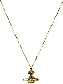 vivienne-westwood-grace-small-3d-pendant-necklace-gold