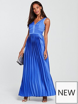 little-mistress-plunge-v-neck-satin-maxi-dress-azure-blue