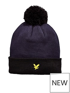 lyle-scott-fitness-golf-walsh-bobble-beanie-hat