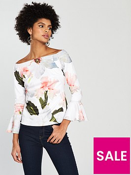 ted-baker-veleita-chatsworth-bloom-bell-sleeve-top-white