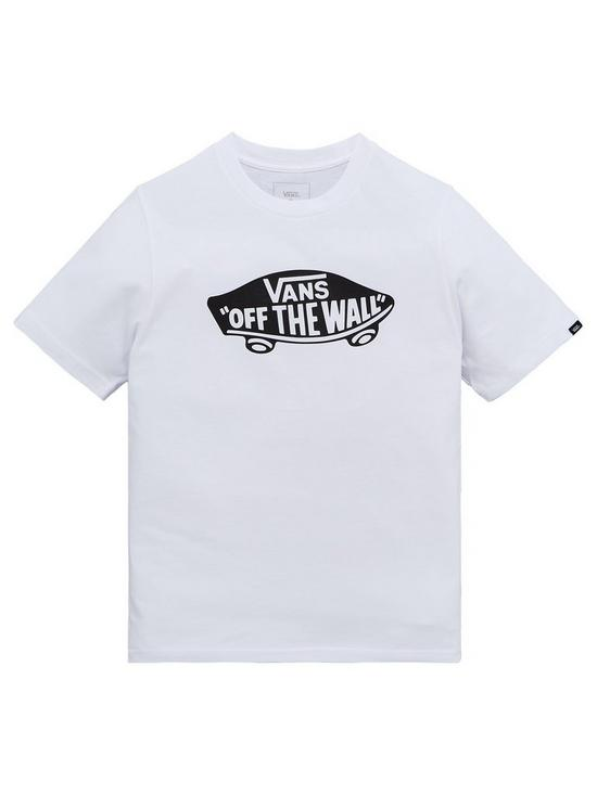 8a08415ed1 Vans Boys Off The Wall Tee - White
