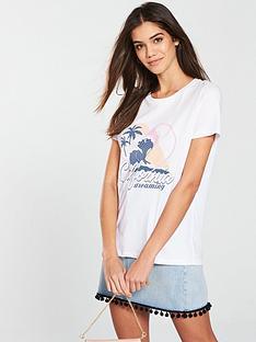 v-by-very-california-slogan-t-shirt-white