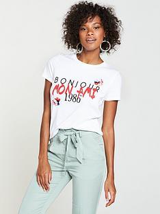 v-by-very-bonjour-flower-embellished-t-shirt-white