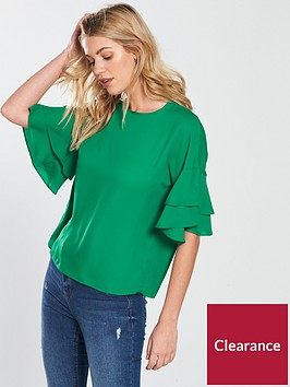 warehouse-ruffle-tee