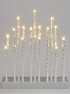 silver-tube-candle-light-christmas-decoration