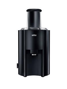 Braun J300Braun Spin Juicer- Black