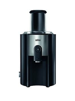 Braun Multiquick J500 Juicer in Black