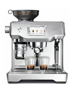 Sage by Heston Blumenthal the Oracle Touch Coffee Machine - Stainless Steel