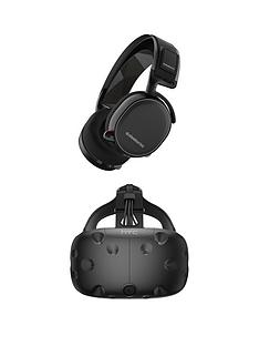 htc-vive-eco-headset-with-steelseries-arctis-7-black-gaming-headphones