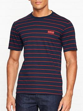 barbour-international-international-ignition-stripe-t-shirt-navy